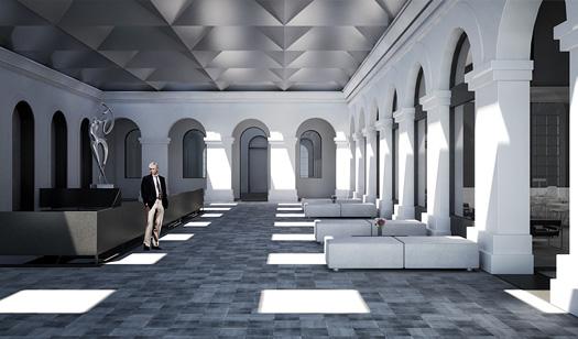 Pavilion render by Matheus Bragagnolo
