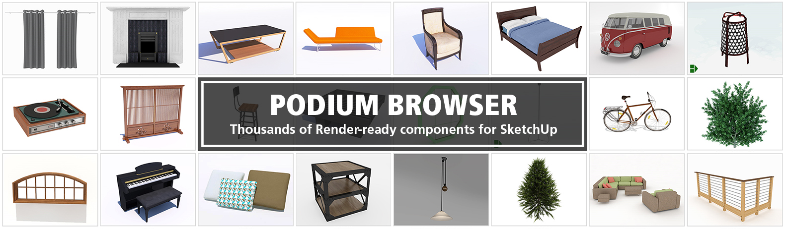 Podium Browser for SketchUp