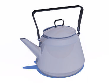 Coffee pot SketchUp component