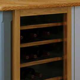 Podium Browser wine rack closeup