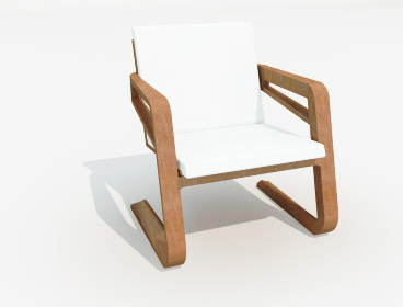 SketchUp chair component