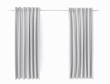 Ikea curtain model SketchUp