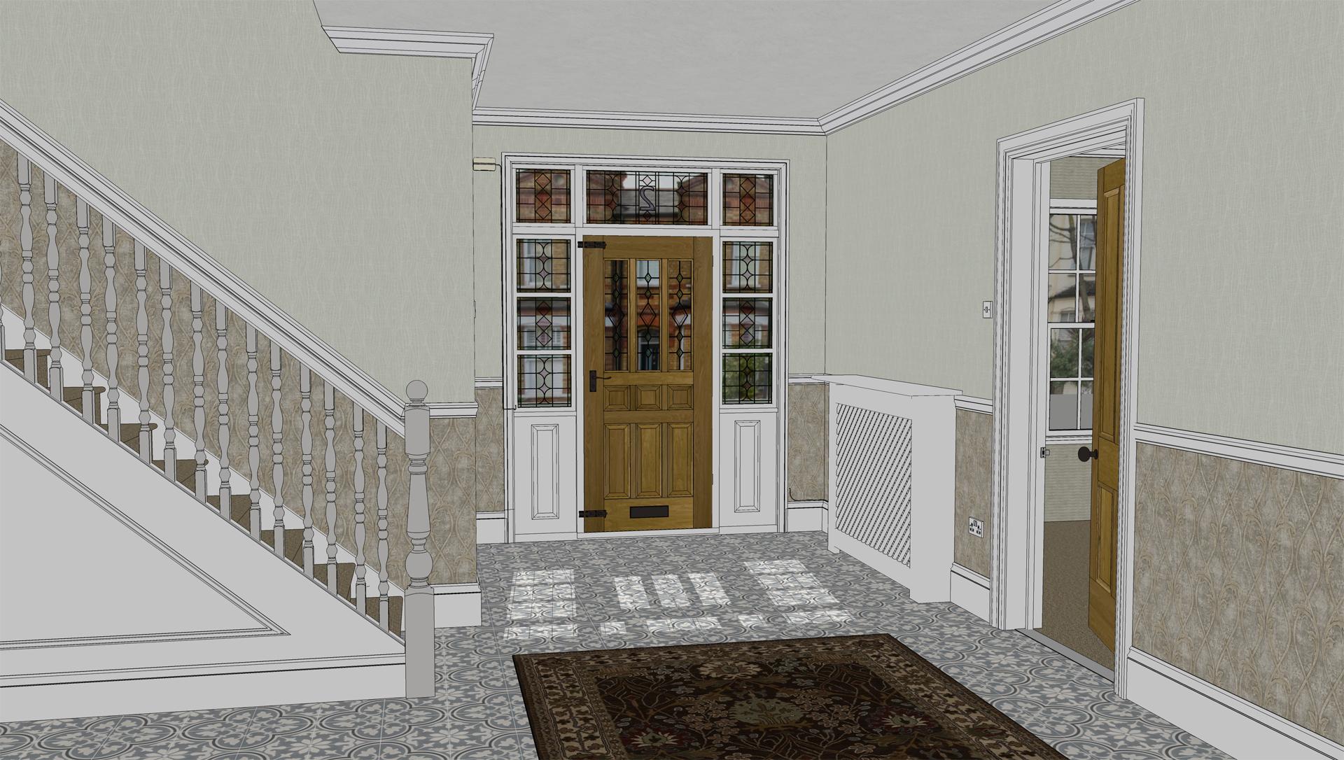 Interior viewport