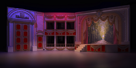 Scenic design with SU Podium